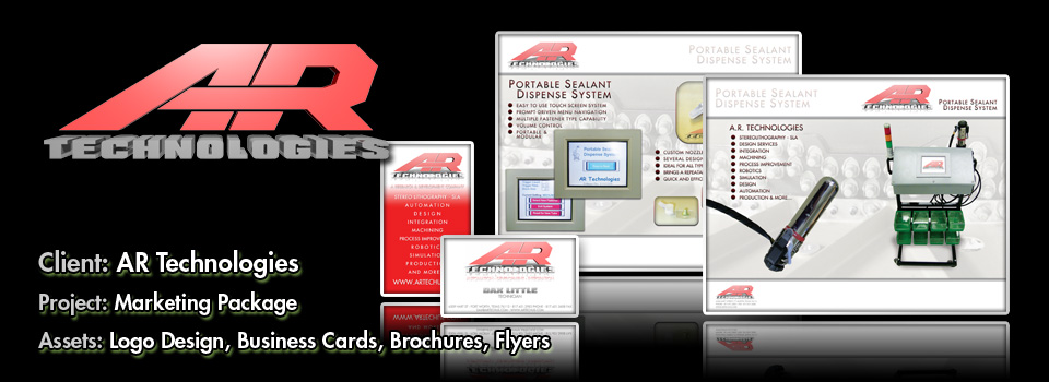 AR Technologies - Print Production & Graphic Design by Melcro industries, LLC