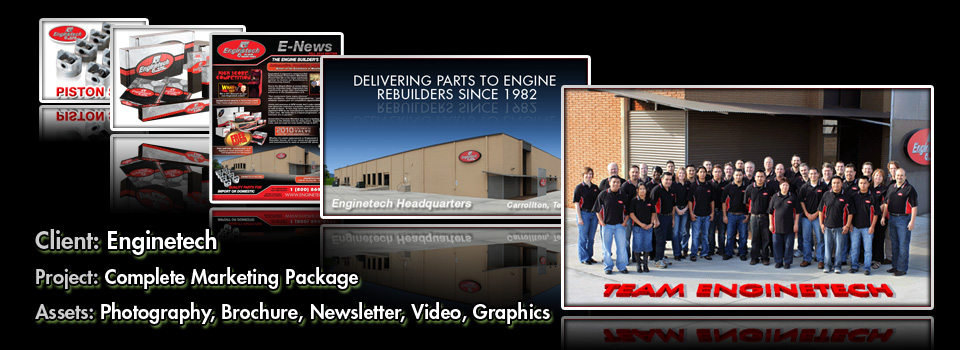 Enginetech  - Print Production & Graphic Design by Melcro industries, LLC