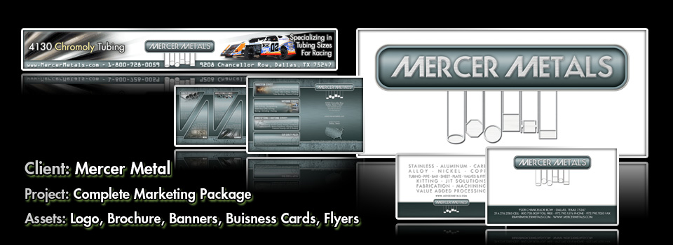 Mercer Metals - Print Production & Graphic Design by Melcro Industries, LLC