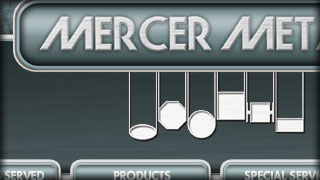 Mercer Metals - A Stocking Distributor of Heavy Metal - Web Development by Melcro Industries, LLC