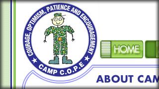 Camp C.O.P.E. - Kids Serve Too - Web Development by Melcro Industries, LLC