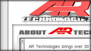 AR Technologies - Research & Development - Web development by Melcro Industries, LLC