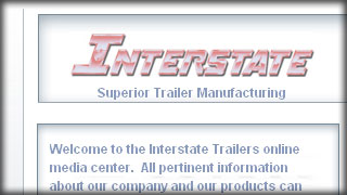 Interstate Trailers - Superior Quality Trailer Manufacturing - Web Development by Melcro Industries, LLC