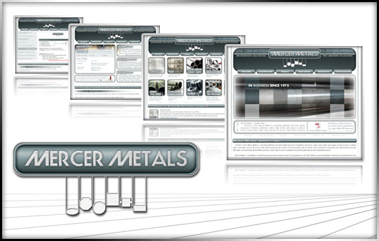 Mercer Metals - A Socking Distributor of Steel Aluminum Titanium Nickel Brass Alloy :: Multimedia Development by Melcro Industries, LLC